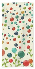 The Gumdrop Garden Beach Towel