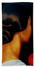 The Hair   Beach Sheet by Manuel Sanchez