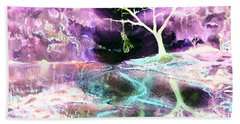 The Hanging Tree Inverted Beach Towel