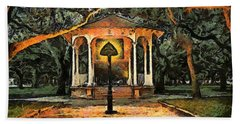 The Haunted Gazebo Beach Sheet