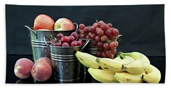 Beach Towel featuring the photograph The Healthy Choice Selection by Sherry Hallemeier