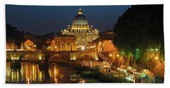 Eternal Sound Of Rome Beach Towel