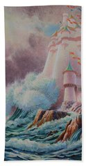 The High Tower Beach Towel