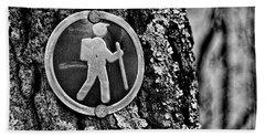The Hiking Sign Beach Sheet
