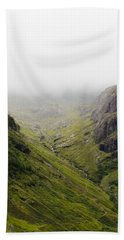 Beach Towel featuring the photograph The Hills Of Glencoe by Christi Kraft