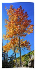 Beach Towel featuring the photograph The Hillside - Panorama by Shane Bechler