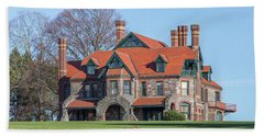 The Historic Eustis Estate In Milton Massachusetts Beach Sheet by Brian MacLean
