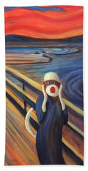 The Holler Beach Towel by Randy Burns