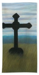 The Holy Cross Beach Towel