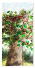 The Holy Oak Tree Beach Sheet