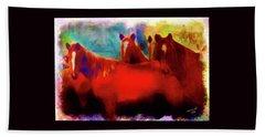 The Horse Whisperer Beach Towel