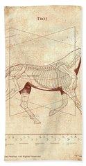 The Horse's Trot Revealed Beach Sheet