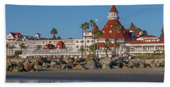 The Hotel Del Coronado Beach Towel