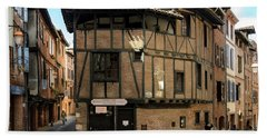 The House Of The Old Albi Beach Towel by RicardMN Photography