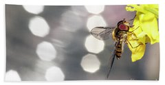 The Hoverfly Beach Towel