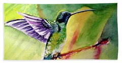 The Hummingbird Beach Towel