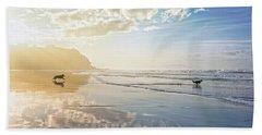 The Hunt Beach Towel