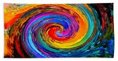 The Hurricane - Abstract Beach Towel