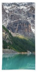 The Immensity Of Moraine Lake Beach Towel