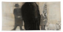 The Incongruity Of It All  Beach Towel by Jean Cormier