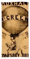 The Incredible Mr. Green Beach Towel
