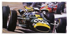 The Indianapolis 500 Beach Towel