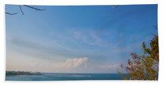 The Island Of God #5 Beach Towel