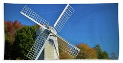 The Jamestown Windmill Beach Towel