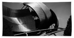 The Jay Pritzker Pavilion Beach Sheet