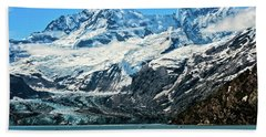 The John Hopkins Glacier Beach Towel