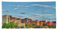 Beach Towel featuring the photograph The Johns Hopkins Hospital Complex by Mark Dodd