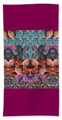 The Joy Of Design Mandala Series Puzzle 7 Arrangement 3 Beach Towel
