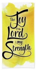 The Joy Of The Lord - Yellow Beach Sheet
