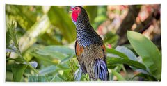 The Junglefowl Beach Towel