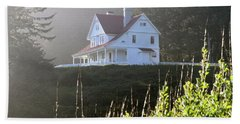 The Keepers House 2 Beach Towel by Laddie Halupa