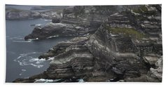 The Kerry Cliffs, Ireland Beach Sheet