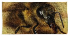 The Killer Bee Beach Towel by ISAW Gallery