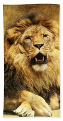 The King Beach Towel