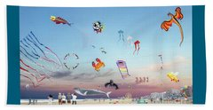 The Kite Festival Ocean City Md Beach Towel