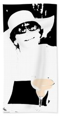 Beach Towel featuring the photograph The Lady Loves A Margaretta by Gary Smith
