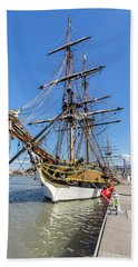 Beach Sheet featuring the photograph The Lady Washington by Rob Green