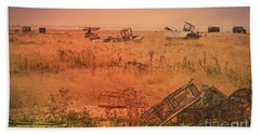 The Landscape Of Dungeness Beach, England 2 Beach Towel