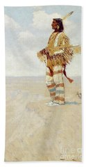 The Last Of His Race  The Vanishing American, 1908 Beach Towel