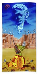 The Last Soldier An Ode To Beethoven Beach Towel