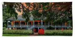 The Laura Plantation  Beach Towel by J Griff Griffin