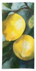 The Lemon Tree Beach Towel