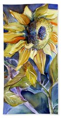 The Light Of Sunflowers Beach Towel