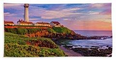 The Light Of Sunset Beach Sheet