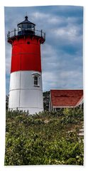 Beach Towel featuring the photograph The Lighthouse by Kendall McKernon
