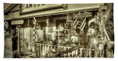 The Little Antique Store Beach Sheet by Mike Eingle